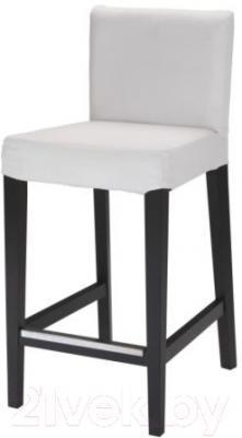 Стул Ikea Хенриксдаль 598.502.54 (коричнево-черный/белый)