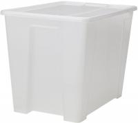 Контейнер для хранения Ikea Самла 598.985.38 (прозрачный) -