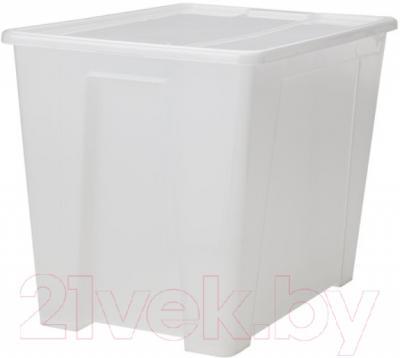 Контейнер для хранения Ikea Самла 598.985.38 (прозрачный)