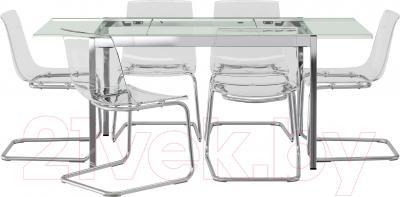 Обеденная группа Ikea Гливарп/Тобиас 599.321.46 (прозрачный)
