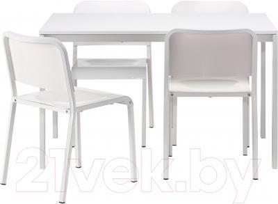 Обеденная группа Ikea Мельторп 690.107.04 (белый) - Инструкция по сборке