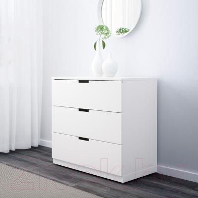 Комод Ikea Нордли 690.211.75 (белый)