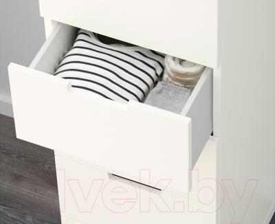 Комод Ikea Нордли 690.211.61 (белый)