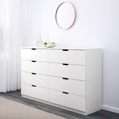 Комод Ikea Нордли 690.213.59 (белый)