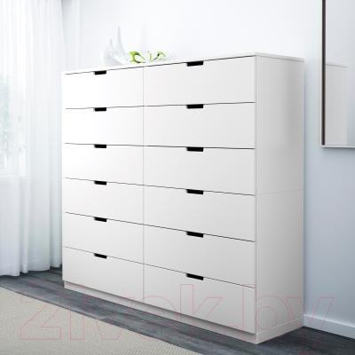 Комод Ikea Нордли 690.213.64 (белый)
