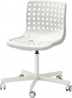 Стул офисный Ikea Сколберг/Споррен 690.236.12 (белый) -