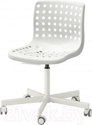Стул офисный Ikea Сколберг/Споррен 690.236.12 (белый)
