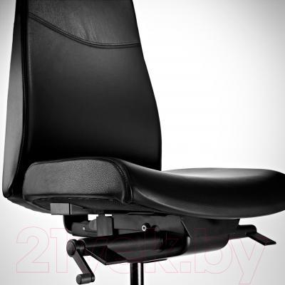 Кресло офисное Ikea Вольмар 690.317.30 (черный) - вид спереди
