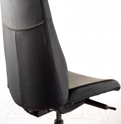 Кресло офисное Ikea Вольмар 690.317.30 (черный) - вид сзади