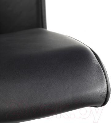 Кресло офисное Ikea Вольмар 690.317.30 (черный) - кожаная обивка
