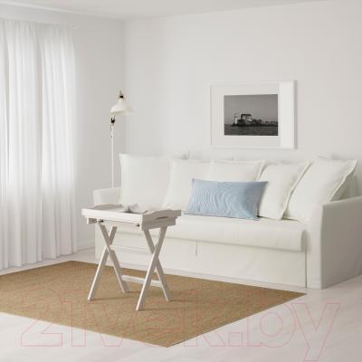 Диван-кровать Ikea Хольмсунд 690.486.60 (Ранста белый) - в интерьере