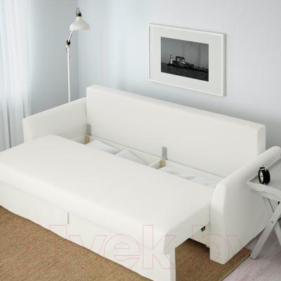 Диван-кровать Ikea Хольмсунд 690.486.60 (Ранста белый) - ящик для хранения белья