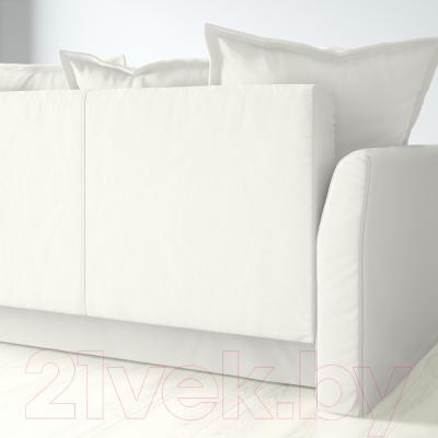 Диван-кровать Ikea Хольмсунд 690.486.60 (Ранста белый) - вид сзади