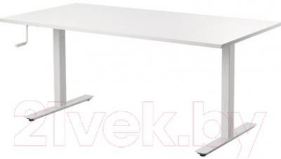 Письменный стол Ikea Скарста 290.849.66 (белый)
