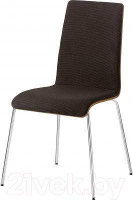 Стул Ikea Корнелис 691.223.82 (дубовый шпон/коричневый)