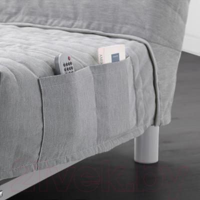 Диван-кровать Ikea Бединге Левос 691.289.30 (Книса светло-серый)