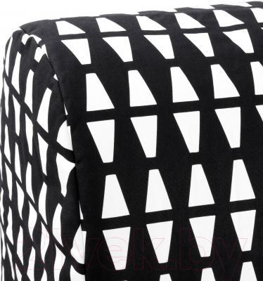 Диван-кровать Ikea Ликселе Ховет 691.499.23 (Эббарп черный/белый)
