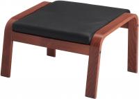 Банкетка Ikea Поэнг 698.152.84 (коричневый/черный) -