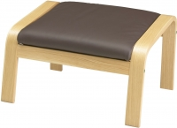 Банкетка Ikea Поэнг 698.291.15 (дубовый шпон/темно-коричневый) -