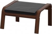 Банкетка Ikea Поэнг 698.604.79 (коричневый/черный) -