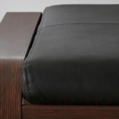 Банкетка Ikea Поэнг 698.604.79 (коричневый/черный)