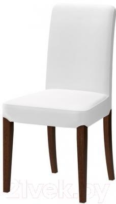 Стул Ikea Хенриксдаль 698.741.17 (коричневый/белый)