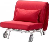 Кресло-кровать Ikea Икеа/Пс Левос 698.743.82 (красный) -