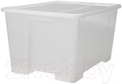 Контейнер для хранения Ikea Самла 699.032.14 (прозрачный)
