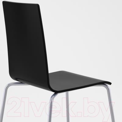 Стул Ikea Мартин 699.036.43 (серебристый/черный)