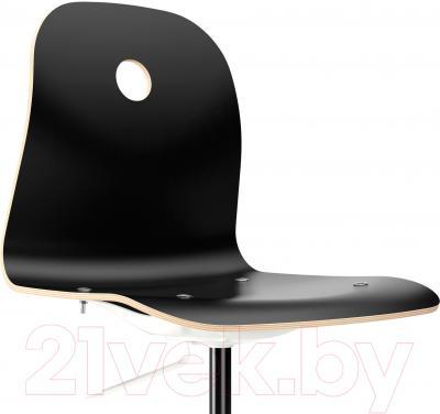 Стул офисный Ikea Вогсберг/Споррен 790.066.93 (черный/белый) - вид спереди