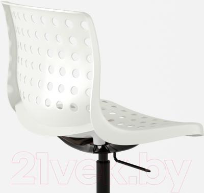 Стул офисный Ikea Сколберг/Споррен 790.236.02 (белый/черный) - вид сзади