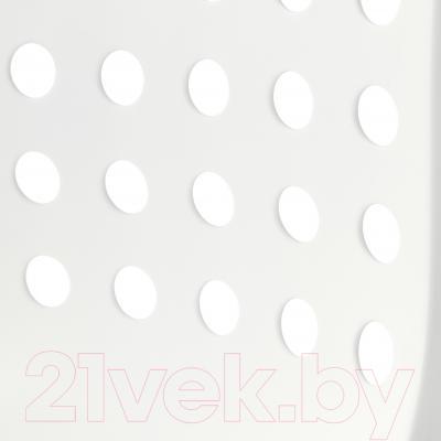 Стул офисный Ikea Сколберг/Споррен 790.236.02 (белый/черный) - пластиковое сиденье