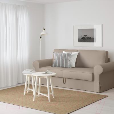 Диван-кровать Ikea Баккабру 790.335.97 (Тигельшо бежевый) - в интерьере