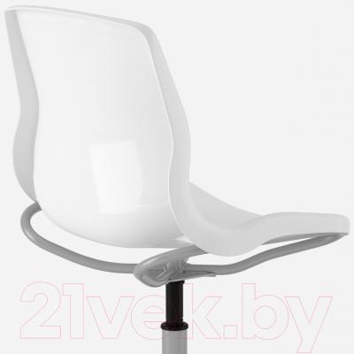 Стул офисный Ikea Снилле 790.462.60 (белый) - вид сзади