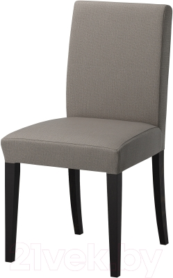Стул Ikea Хенриксдаль 791.001.53 (коричнево-черн./серо-бежевый)