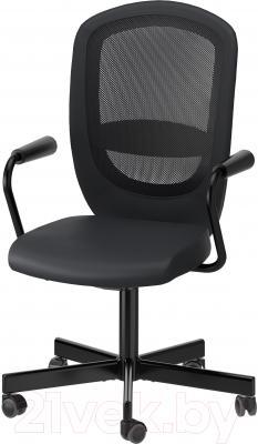 Кресло офисное Ikea Флинтан/Номинель 791.224.47 (черный)