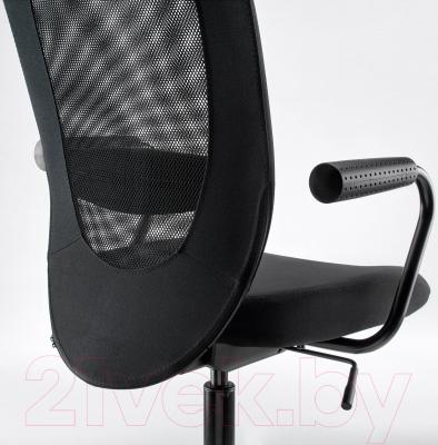 Кресло офисное Ikea Флинтан/Номинель 791.224.47 (черный) - вид сзади