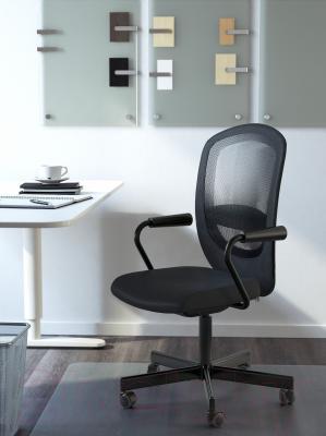 Кресло офисное Ikea Флинтан/Номинель 791.224.47 (черный) - в интерьере