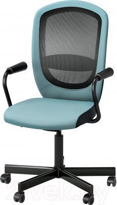 Кресло офисное Ikea Флинтан/Номинель 291.224.78 (бирюзовый)