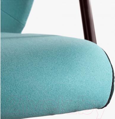 Кресло офисное Ikea Флинтан/Номинель 291.224.78 (бирюзовый) - сиденье из ткани