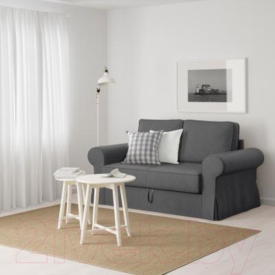 Диван-кровать Ikea Баккабру 791.336.48 (Нордвалла темно-серый) - в интерьере