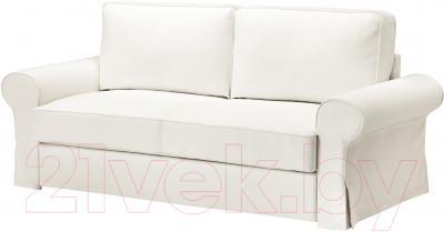 Диван-кровать Ikea Баккабру 791.341.10 (Хильте белый)