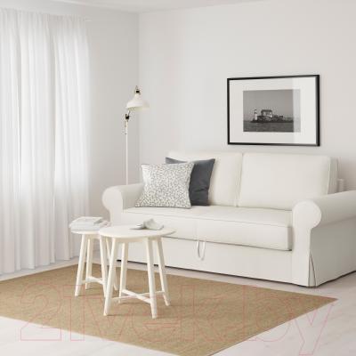 Диван-кровать Ikea Баккабру 791.341.10 (Хильте белый) - в интерьере