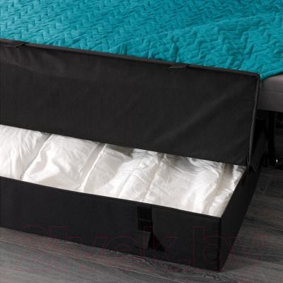 Диван-кровать Ikea Ликселе Мурбо 791.499.13 (Валларум бирюзовый) - можно дополнить ящиком для белья