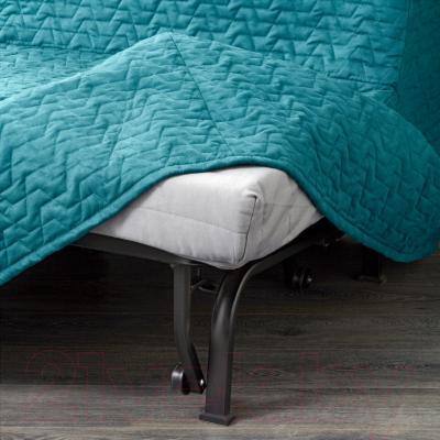Диван-кровать Ikea Ликселе Мурбо 791.499.13 (Валларум бирюзовый) - съемный чехол