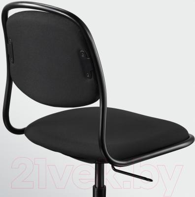 Стул офисный Ikea Орфьелль/Споррен 791.391.84 (черный) - вид сзади