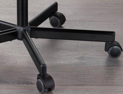 Стул офисный Ikea Орфьелль/Споррен 791.391.84 (черный) - резиновое покрытие колесиков