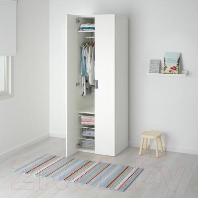 Шкаф Ikea Стува 791.337.14 (белый/белый)