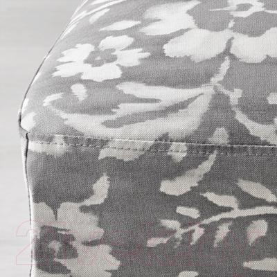 Стул Ikea Хенриксдаль 791.622.35 (коричнево-черный/серо-белый)