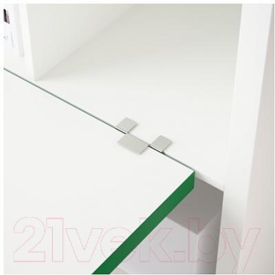 Компьютерный стол Ikea Каллакс 291.230.53 (белый/зеленый)